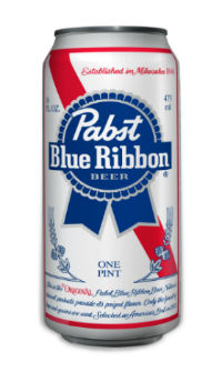 pabst blue ribbon can 16oz